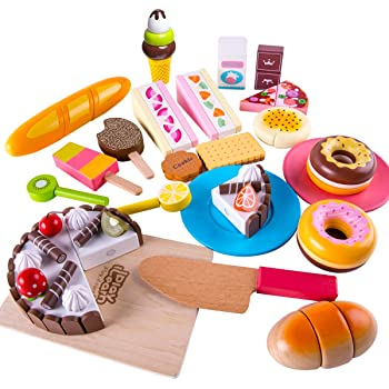 Amazon Com Iplay Ilearn Mini Pretend Food Toys Play Kitchen