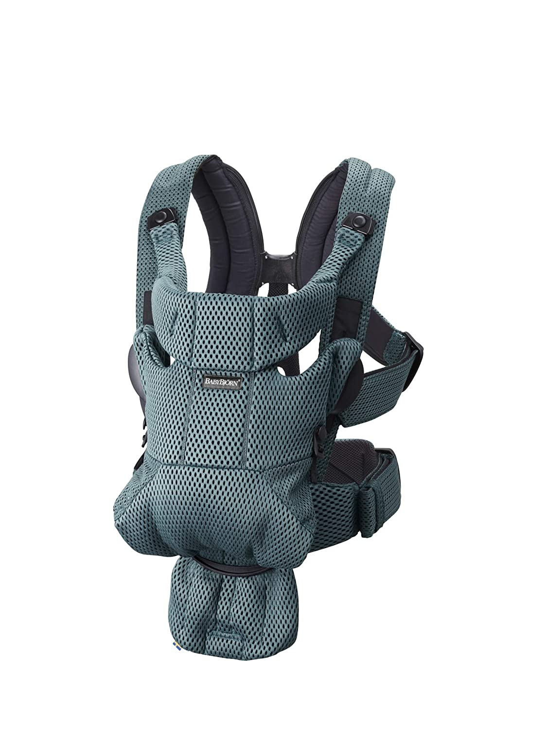 BABYBJÖRN Baby Carrier Free, 3D Mesh, Sage Green