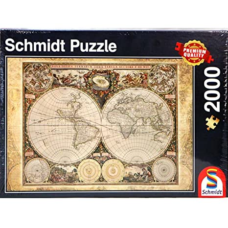 Amazon schmidt historical map of the world puzzle 2000 piece schmidt historical map of the world puzzle 2000 piece gumiabroncs Image collections