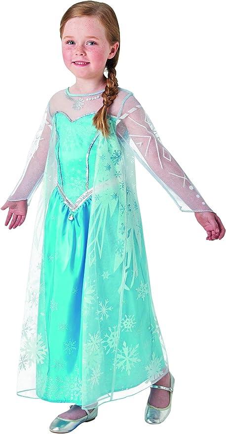 Halloween enia – Disfraz de Elsa Frozen Deluxe para niña con ...