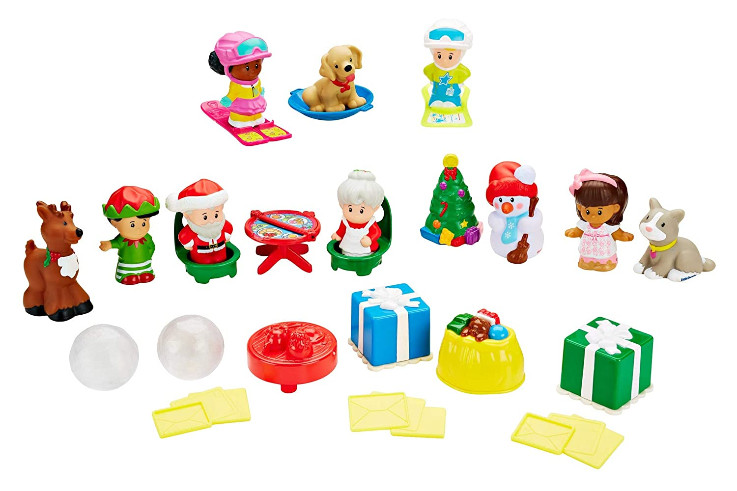 Fisher-Price Little People Advent Calendar, Frustration Free Packaging
