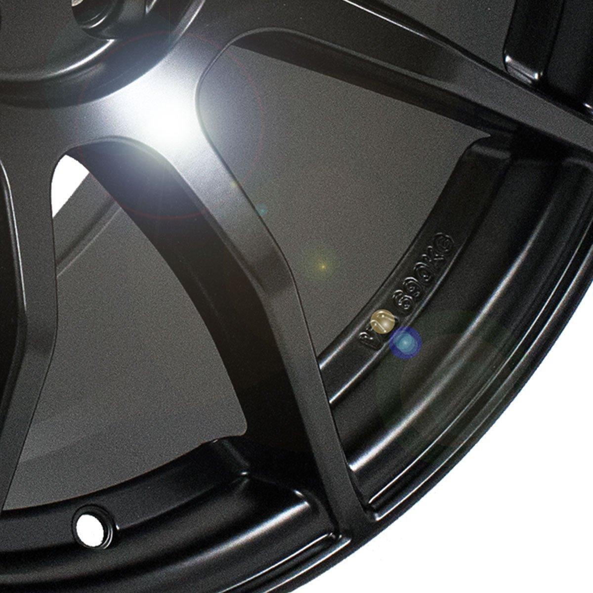 Amazon.com: 18x8.5 Enkei TS9 (Matte Black) Wheels/Rims 5x114.3 (492-885-6535BK): Automotive