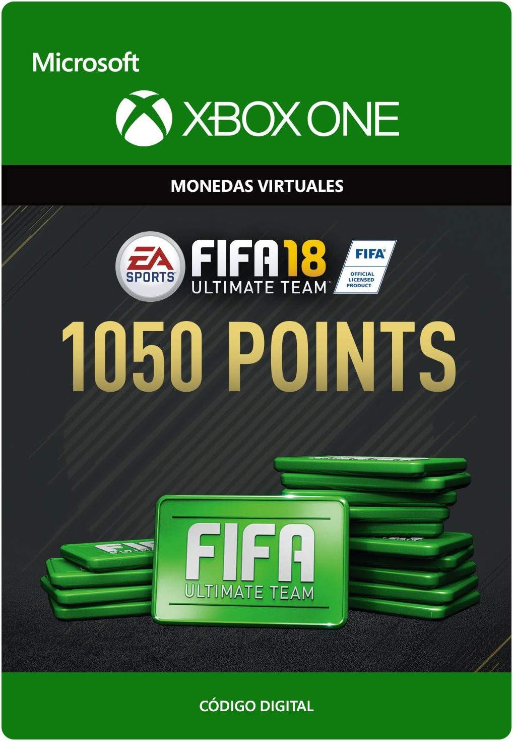 FIFA 18: Ultimate Team FIFA Points 1050   Xbox One - Código de descarga: Amazon.es: Videojuegos