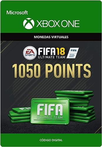FIFA 18: Ultimate Team FIFA Points 1050 | Xbox One - Código de descarga: Amazon.es: Videojuegos