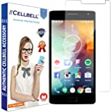 Cellbell Premium Oneplus 2 one plus two (Clear) Tempered Glass Screen Protector (Comes with Warranty,User guide,Complimentary Prep cloth)/Bronze Edition
