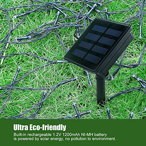 Litom Outdoor Solar String Lights 200 Led Solar Decorative Import It All