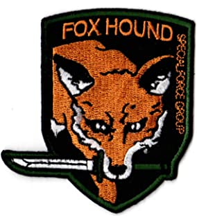 Foxhound Patch From Metal Gear Solid Zanzibarland