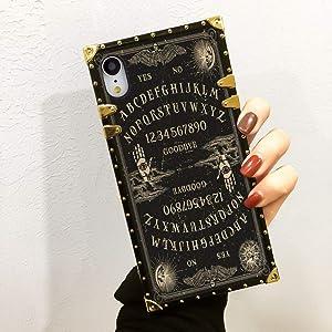 Apple iPhone Xr 6.1in Ouija Board TPU Case for Girls Women Teens