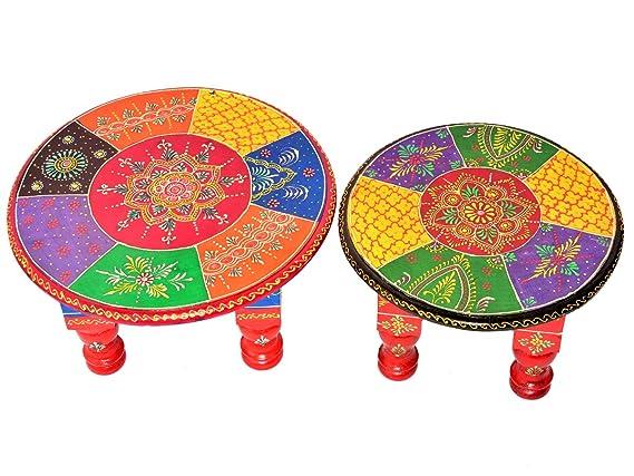 Jaipur - Juego de 2 taburetes de Mesa para Rezar a Diario ...