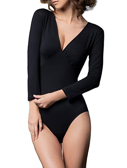 Gatta Fashion Long Sleeve Bodysuit