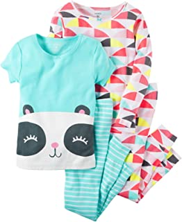 1f6979912 Amazon.com  New Jammies Baby Girls  Organic Pajama Ski Bunnies