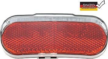 P4B 539 Luz Trasera LED con Dinamo para Bicicleta, Rojo y Negro ...