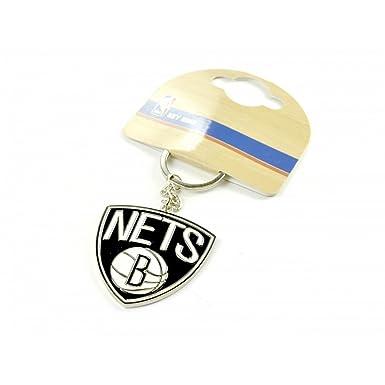 Brooklyn Nets - Llavero oficial NBA (Talla Única/Blanco ...