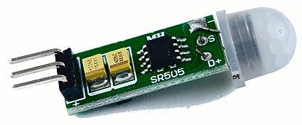 Mini PIR (Passive Infrared) Motion Sensor, HC-SR505