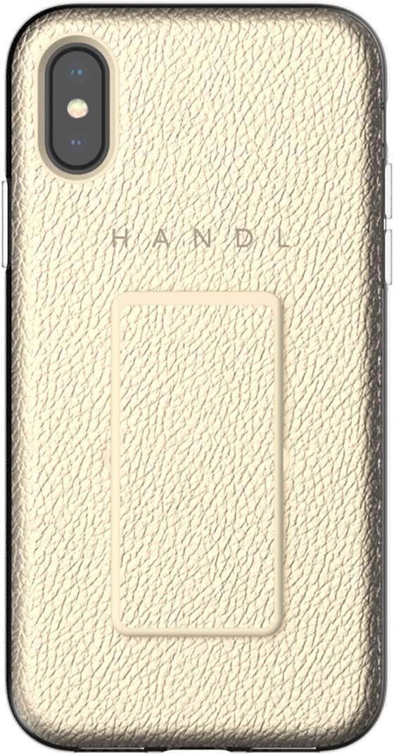 HANDL Inlay CASE for iPhone X/XS - Gold Pebble