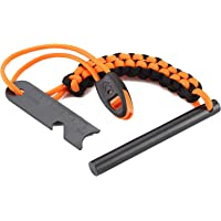 Backpacking and Hiking Essentials Emergency Survival 5//16 Threaded Ferro Rods Refill Kit Flint Fire Starter for Camping Hiking FOSTAR Pack of Two 2