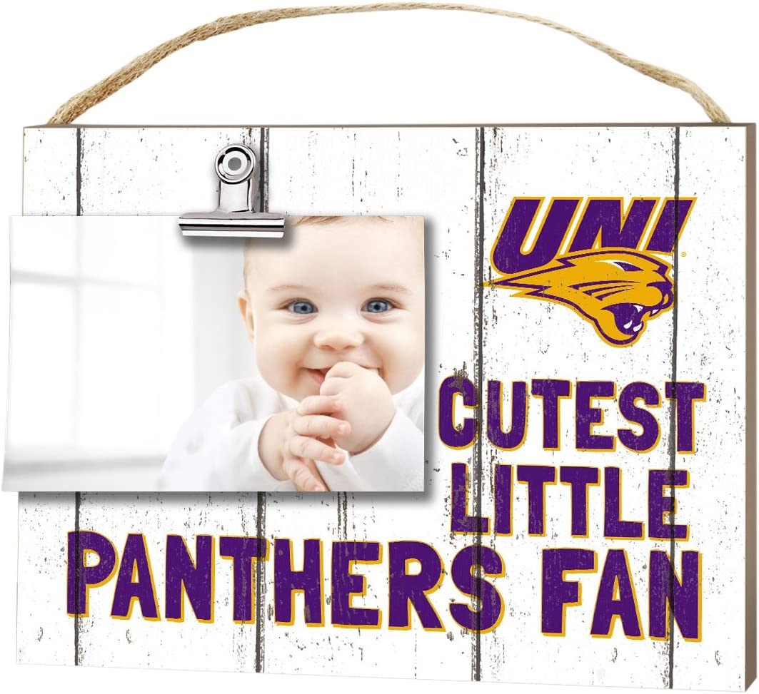 Amazon Com Kh Sports Fan 10 X8 Northern Iowa Panthers Clip It Weathered Baby Logo College Photo Frame