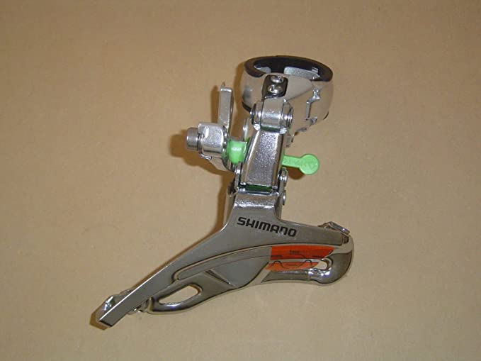 SHIMANO Umwerfer Alivio 66°-69° FD-MC18 Top Swing 24 Gang 8-fach 31,8mm
