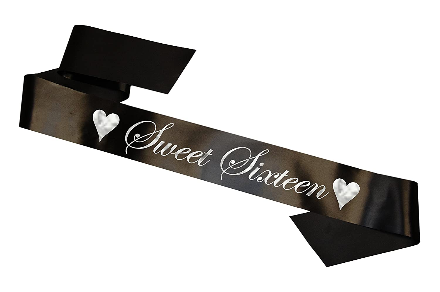 Birthday Girl Sash 16th 18th 21st 30th 40th 50th 60th Party Gift - 1001- Black Worldtenda