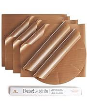 Amazy Papel de Horno Reutilizable (5 unids) – Papel para horno resistente, antiadherente y apto para lavavajillas, 36 x 42 cm