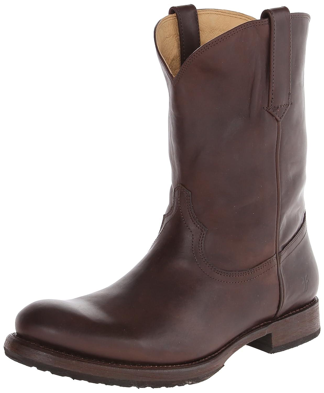 braun - 87297 FRYE Men& 039;s Duke Roper Western Stiefel