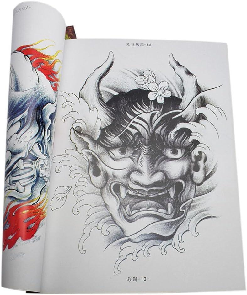Oriental Traditional Body Art Tattoo Flash Designs Tattoo Reference Book Amazon Co Uk Beauty