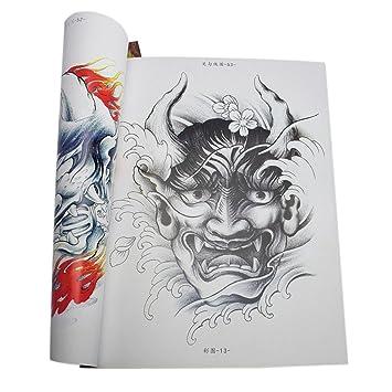 Maravilloso Libro de Referencia de Tatuaje de Diseño de Oriental ...