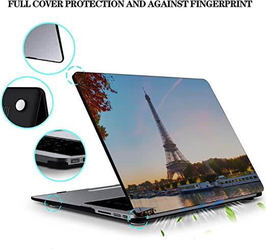 MacBook Air 1466 Case Scenic Freedom Travel City French Plastic Hard Shell Compatible Mac Air 11 Pro 13 15 Cover for Laptop Protection for MacBook 2016-2019 Version