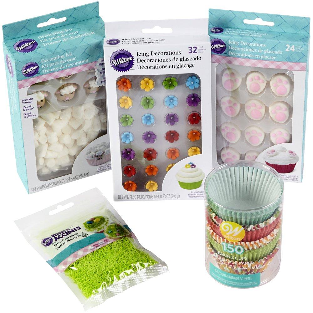 Wilton 2104-5940 Easter Cupcake Kit