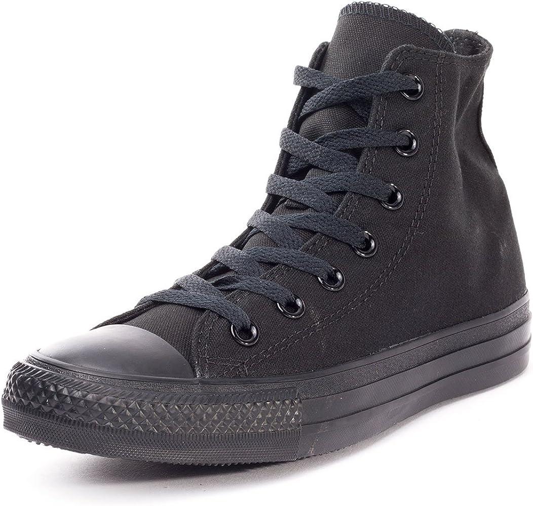 volverse loco Reclamación tramo  Amazon.com   Converse Chuck Taylor All Star Seasonal Canvas High Top  Sneaker (6 D(M) US, Black/Black)   Fashion Sneakers