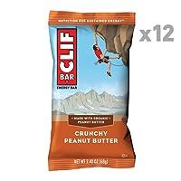 Clif Bar Crunchy Peanut Butter - Pack of 12