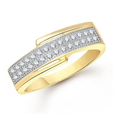 Buy Meenaz American Diamond Valentine Heart For Love Fancy Party
