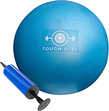 Amazon.com: Tough Kiwi - Mini pelota de ejercicio y bomba de ...