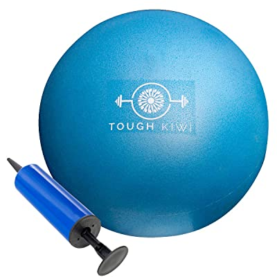 Tough Kiwi 9 Inch Mini Exercise Ball and Pump