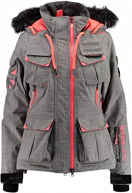 Womens Ultimate Snow Service Jacket in Snow Camo 2082221000029