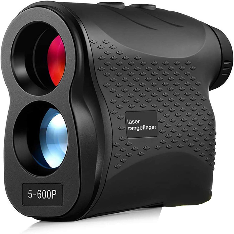 HEWXWX 600m / 0,37 Milla Mano TeléMetro, Telescopio Golf TeléMetro Dispositivos, AltimetríA Velocidad Angular Medida, para IngenieríA, Al Aire Libre, Golf, Electricidad, Forestal