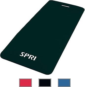 SPRI Exercise Mat for Fitness, Yoga, Pilates, Stretching & Floor Exercises (48