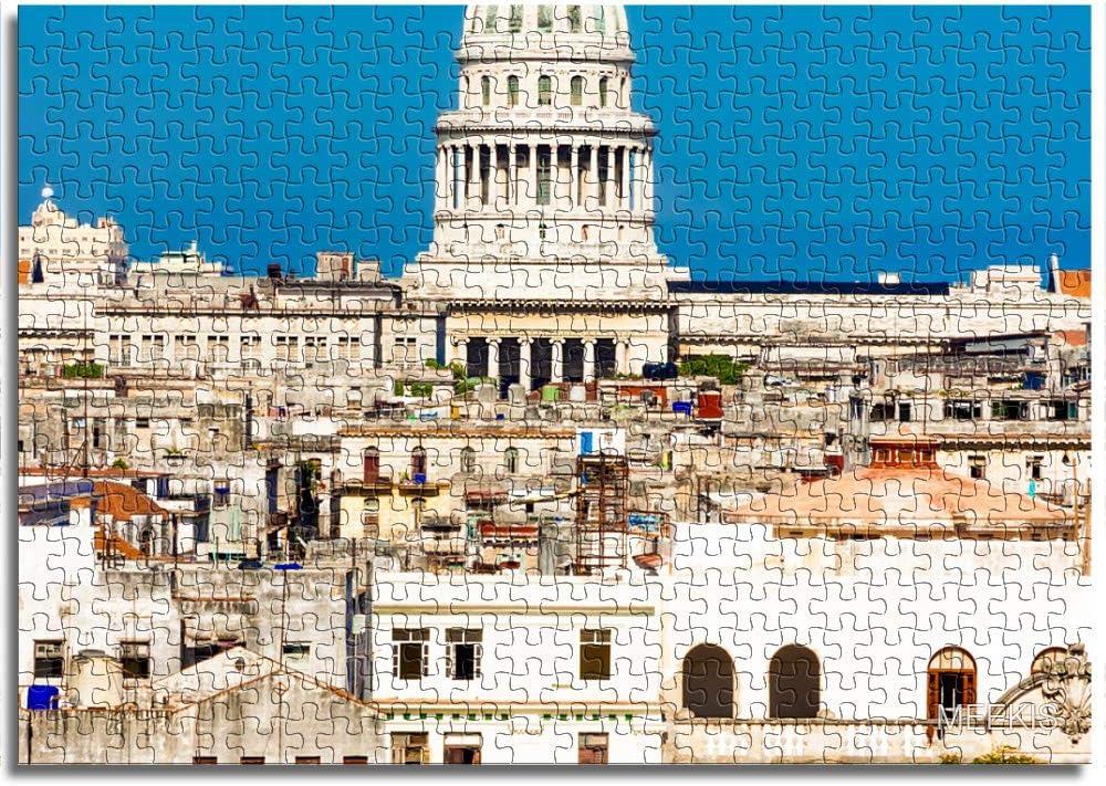 LLLTONG Rompecabezas para Adultos 1000 Piezas Costa de La Habana, Cuba Juegos educativos, Rompecabezas para niños: Amazon.es: Juguetes y juegos