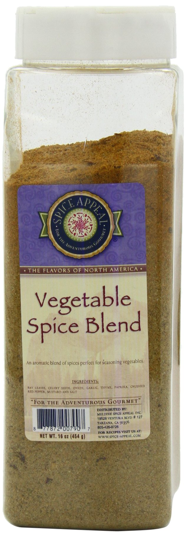 Spice Appeal Vegetable Spice Blend, 16 Ounce