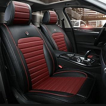 Set de fundas para asiento de coche para Volkswagen VW Ameo Atlas Bora, Caddy,