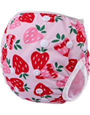 Storeofbaby Reusable Baby Swim Diaper Adjustable Swim Trunk for Infant 0 3 Years