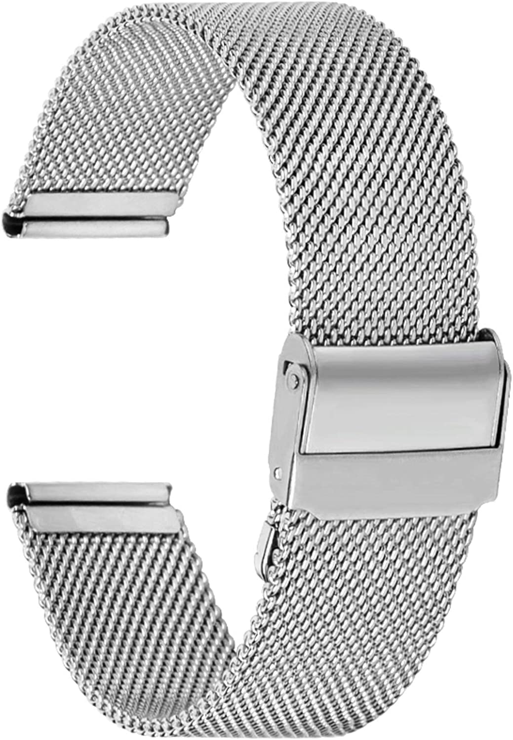 Fullmosa Watch Band,Stainless Steel Watch Band Replacement Strap for 18mm 20mm 22mm