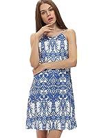 Floerns Women's Summer Spaghetti Strap Boho Dress