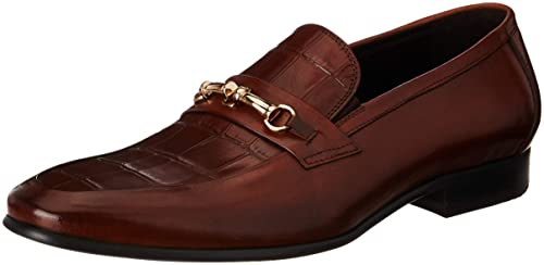 1fd0ee5a364 Image Unavailable. Image not available for. Colour  Arrow Men s Brown  Leather Loafers and ...