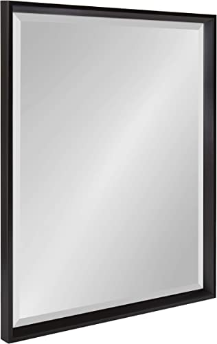 Kate and Laurel Calter Modern Decorative Framed Beveled Wall Mirror