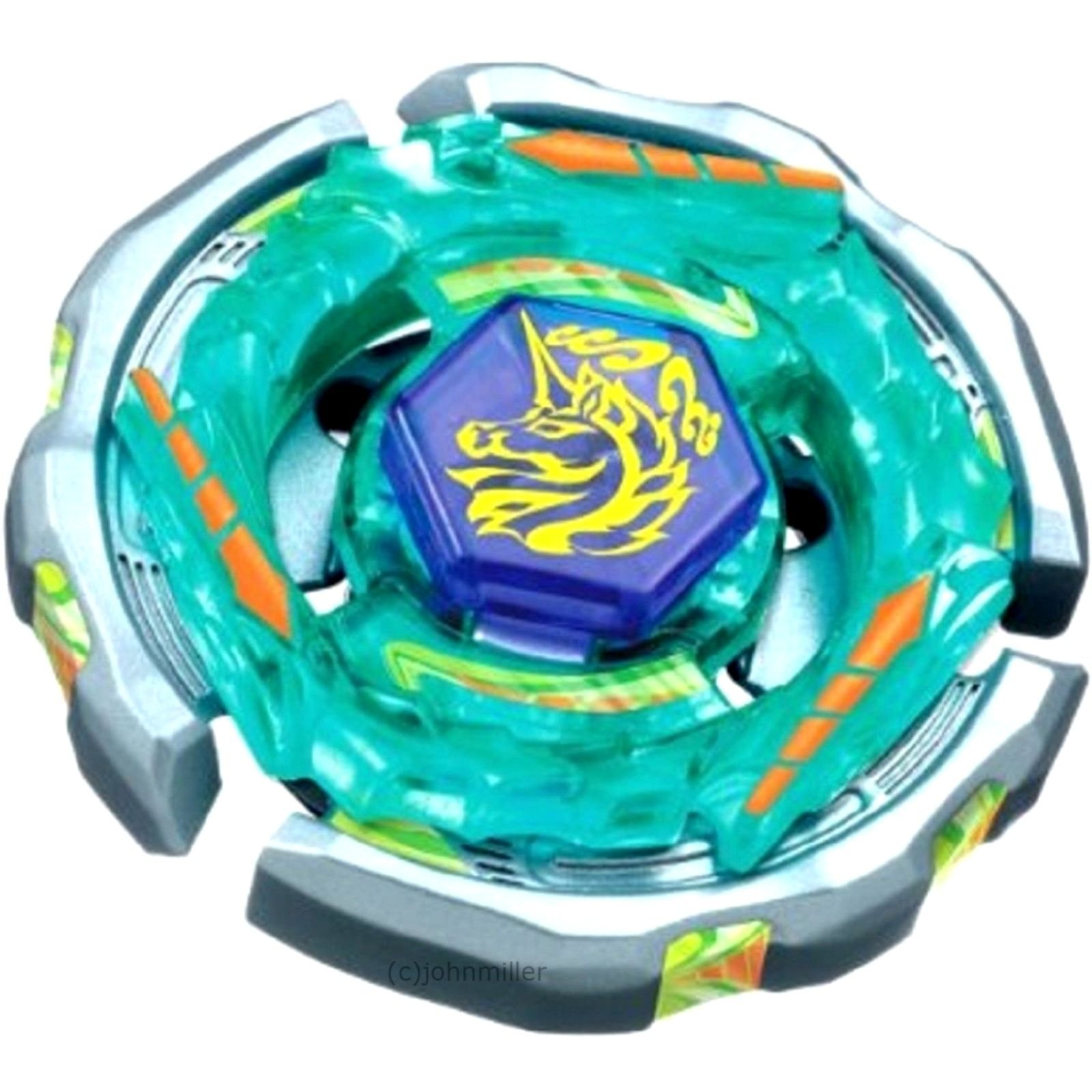 BestKept Baby Toy Kids Toy - BEYBLADE - Dark Bull Metal Fusion Beyblade BB-40 STARTER SET w/Launcher & Ripcord Toy Creative Educational Gift for Kids Boys Girls (BEYBLADE Blue)