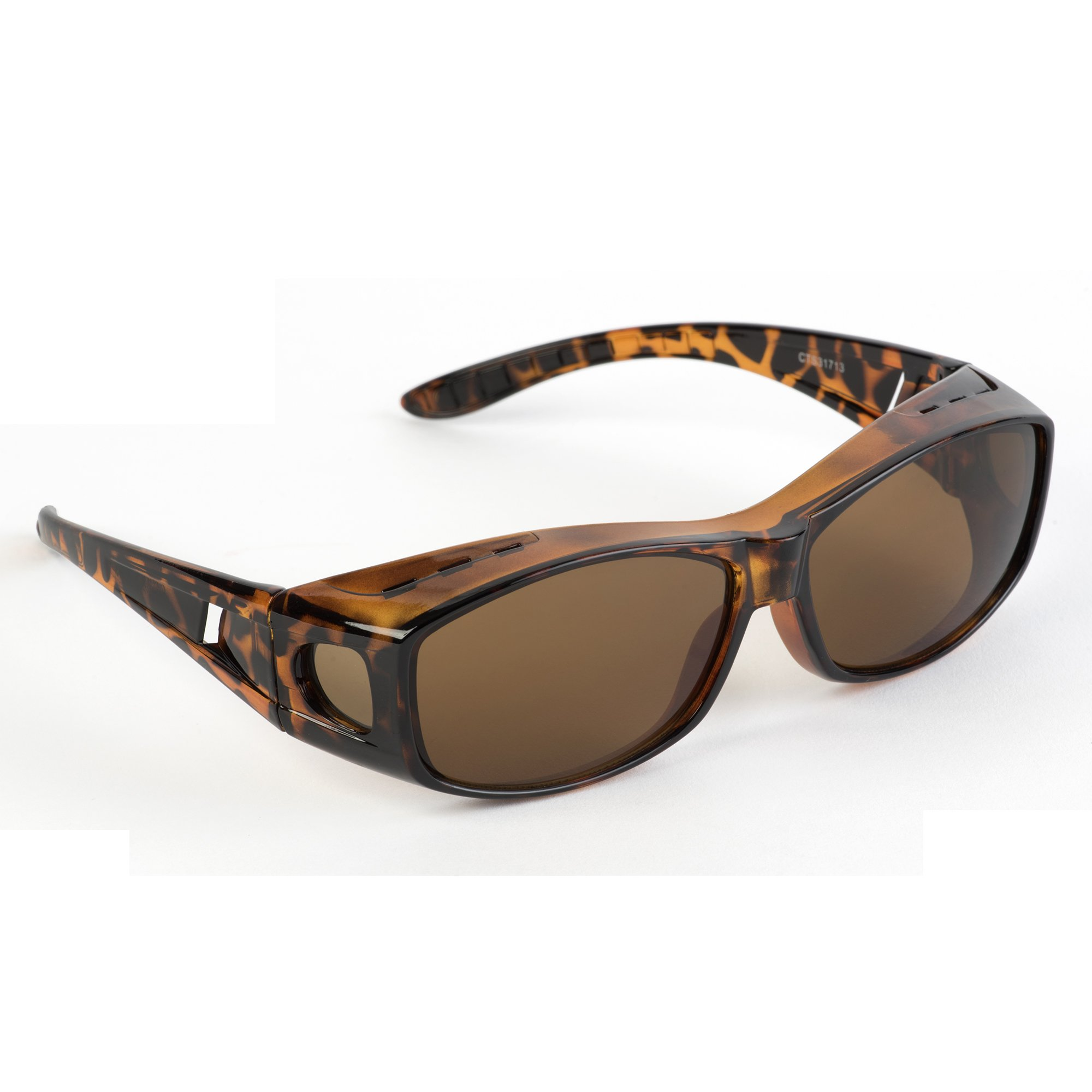 Over Glasses Sunglasses - Fitover Sunglasses with 100% UV Protection - By Pointed Designs (Leopard) by Pointed Designs (Image #1)