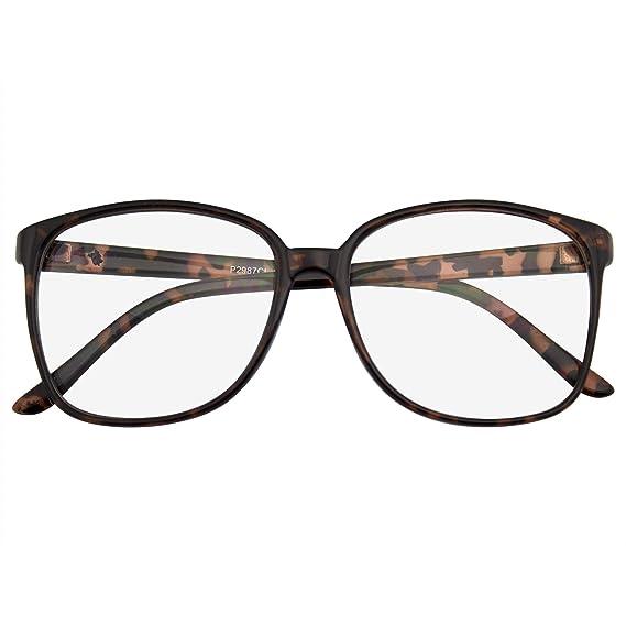 Emblem Eyewear - Gafas De Borde De Cuerno De Gran Tamaño ...