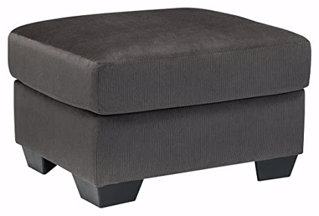 Ashley Furniture Signature Design   Kinlock Comfortable Ottoman U0026 Footrest    Polyester Upholstery   Contemporary