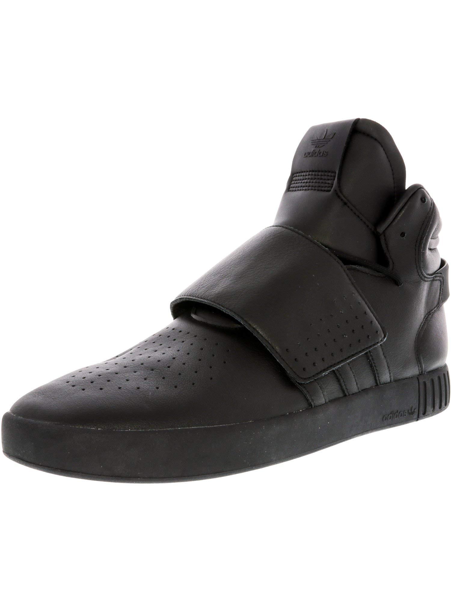 save off 53aca 2aee2 Galleon - Adidas Originals Men s Tubular Invader Strap Fashion Running Shoe,  Utility Black Fabric, (9 M US)